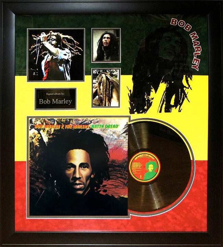 Bob Marley & The Wailers - Natty Dread - Signed Album - Framed