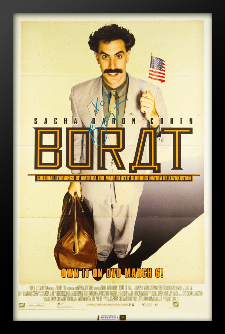 Borat - Signed Movie Poster