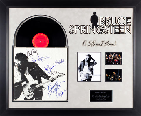 Bruce Springsteen and E Street Band - Born to Run - Signed Album