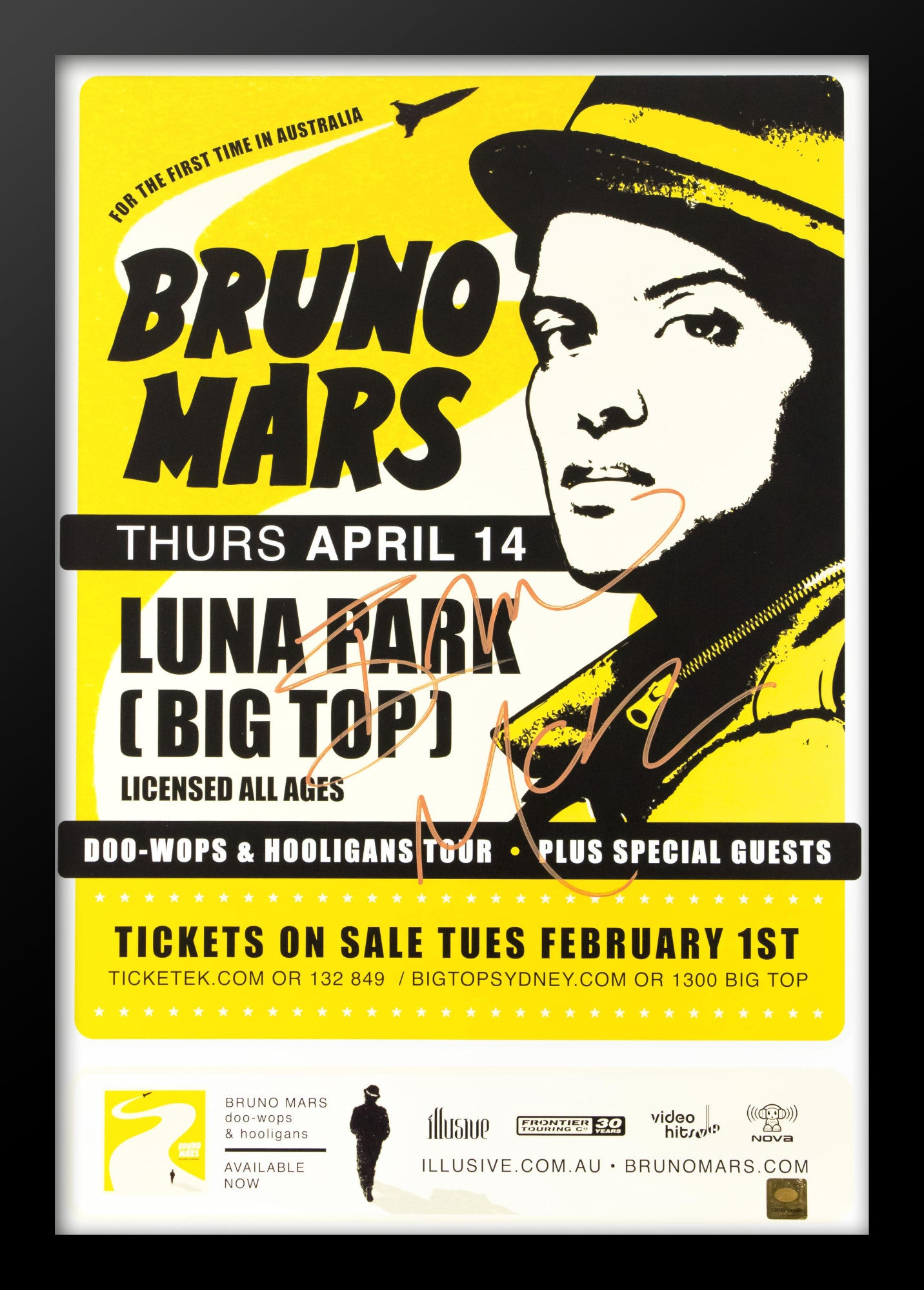 Bruno Mars Rolling Stone Poster