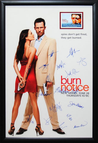 Burn Notice - Signed Movie Poster