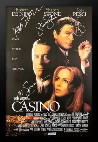 Casino - Signed Movie Poster