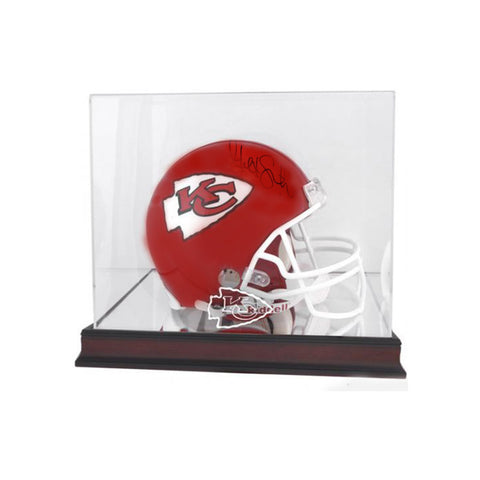 Alex Smith Kansas City Chiefs Autographed Full Size NFL Helmet