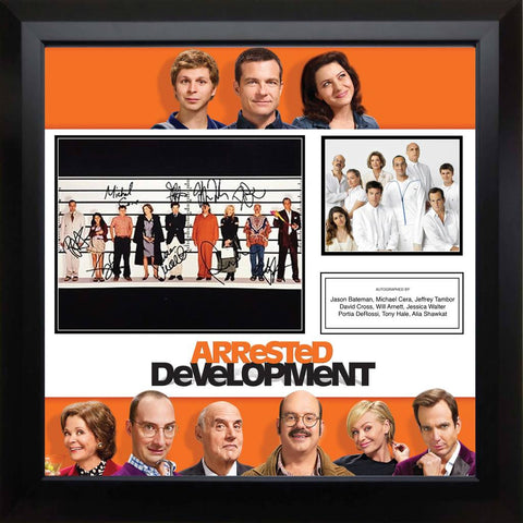 Arrested Development - Signed Photo Collage in Frame