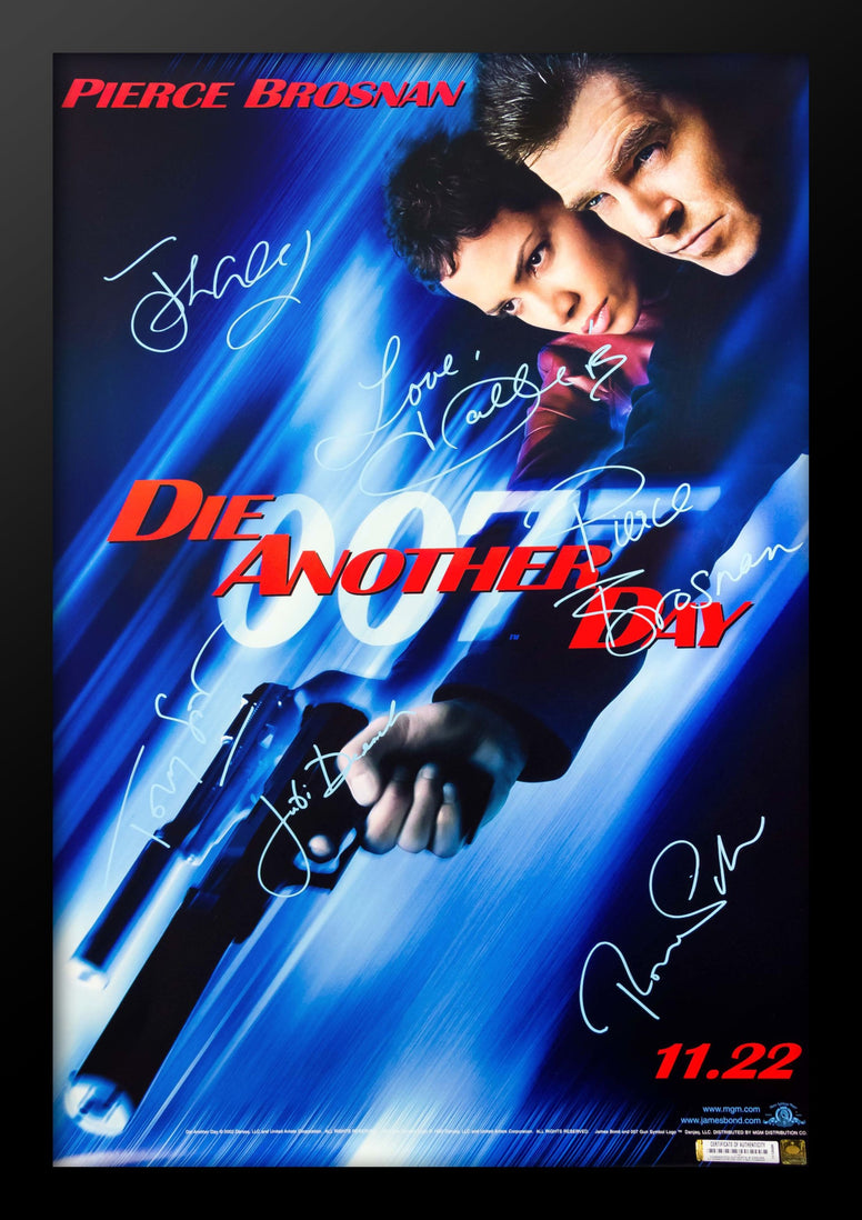 James Bond: Die Another Day - Signed Movie Poster