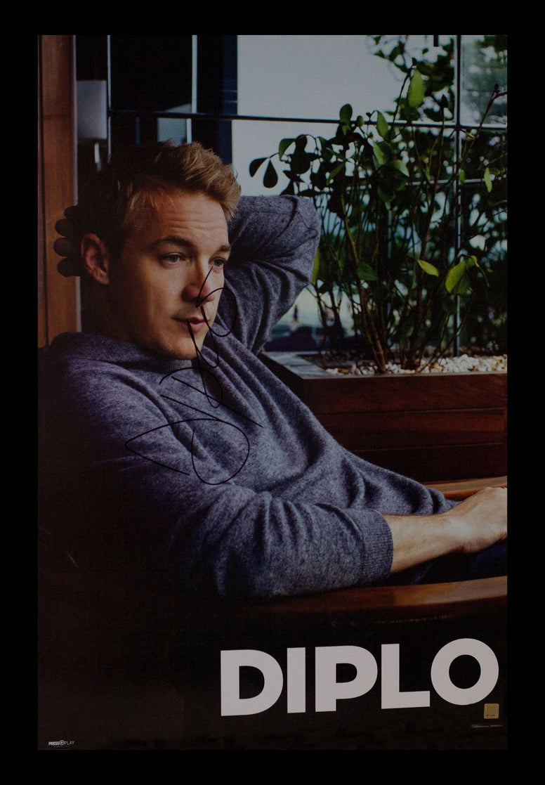 Diplo Signed Poster