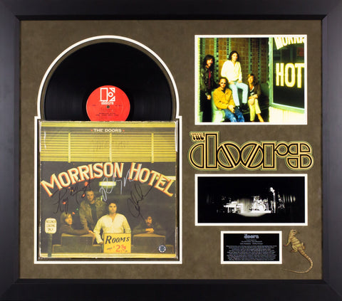 The Doors - Morrison Hotel Signed Album