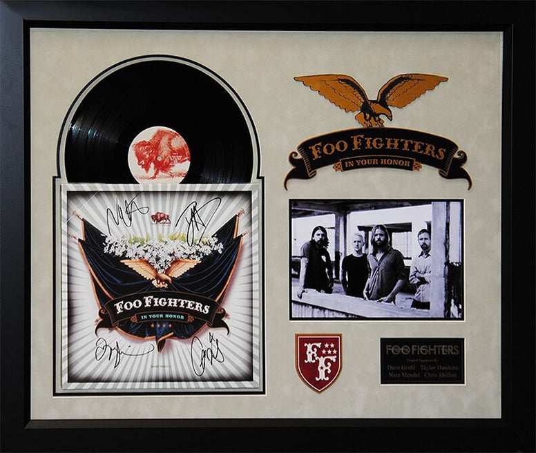 Foo Fighters - In Your Honor - Signed Album