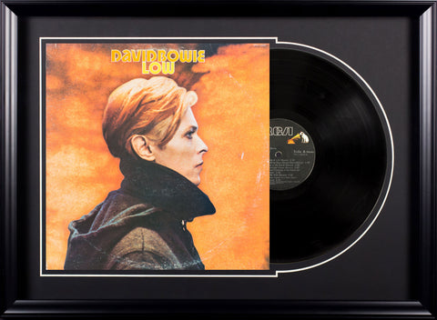 David Bowie Low Vintage Album Deluxe Framed