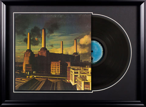 Pink Floyd Animals Vintage LP Album in Deluxe Frame