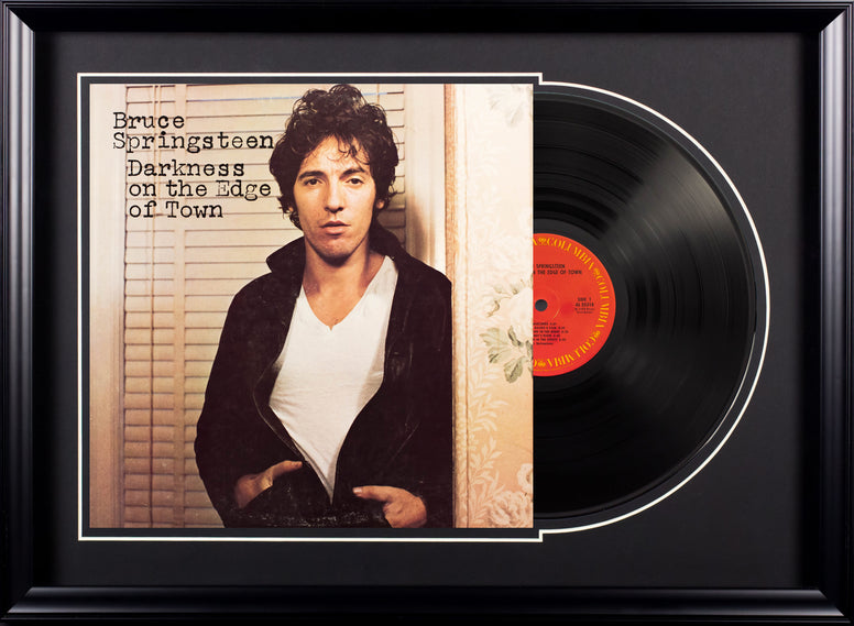 Bruce Springsteen - Darkness On The Edge Of Town - Vintage LP Deluxe Framed