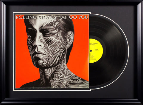 Rolling Stones - Tattoo You - Vintage Album Deluxe Framed
