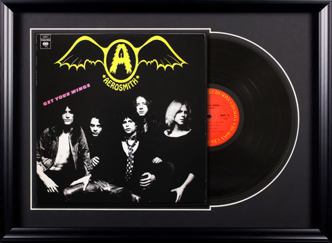 Aerosmith - Get Your Wings - Vintage Album Deluxe Framed