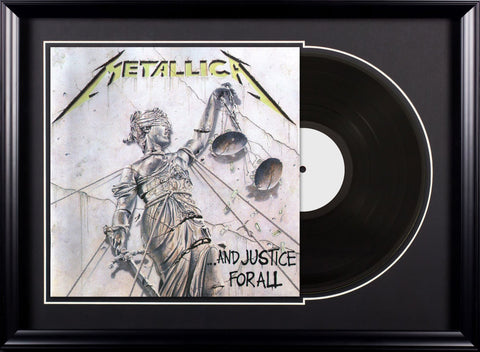 Metallica -And Justice for All  - Vintage Album Deluxe Framed