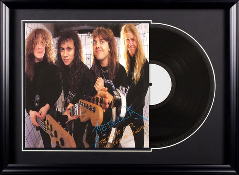 Metallica - The $5.98 E.P.: Garage Days Re-Revisited - Vintage Album Deluxe Framed