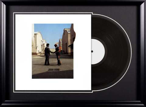 Pink Floyd - Wish You Were Here - Vintage Album Deluxe Framed