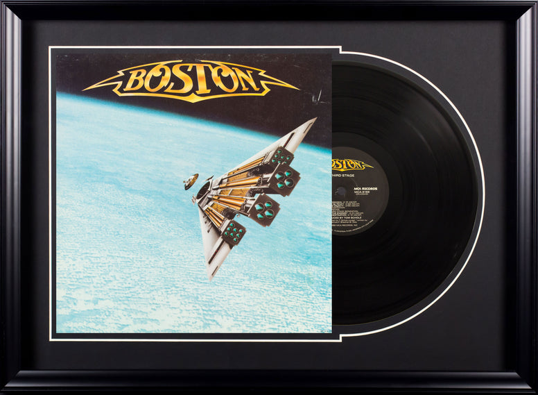 Boston Third Stage Vintage Album Deluxe Framed