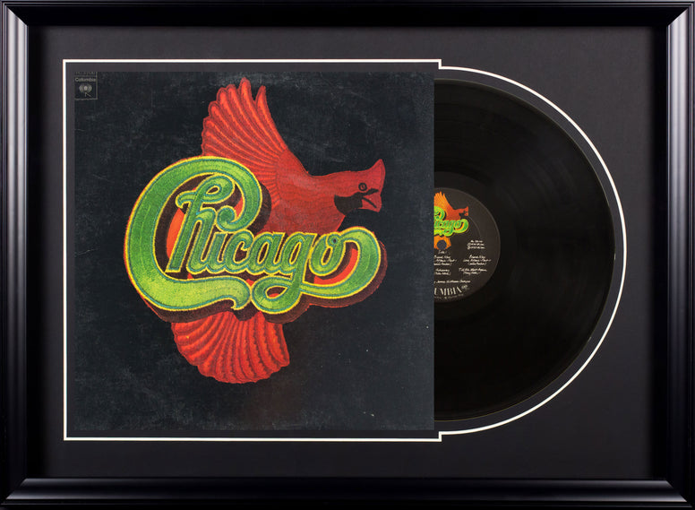 Chicago Vintage Album Deluxe Framed