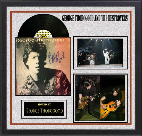 George Thorogood and The Destroyers  - Maverick - Signed Album