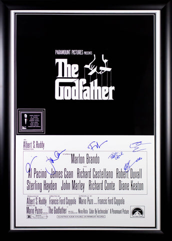 The Godfather - Signed Movie Poster