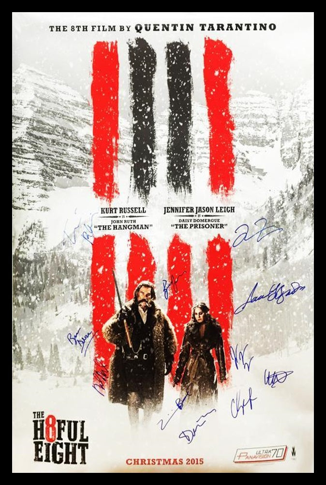 The Hatefull Eight - Signed Movie Poster