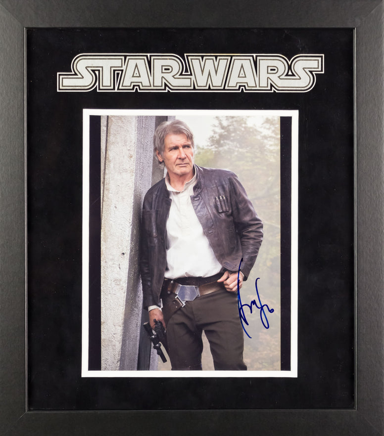 Star Wars - Signed Harrison Ford Movie Photo - Framed Artist Series