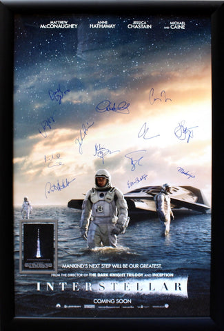 Interstellar - Signed Movie Poster