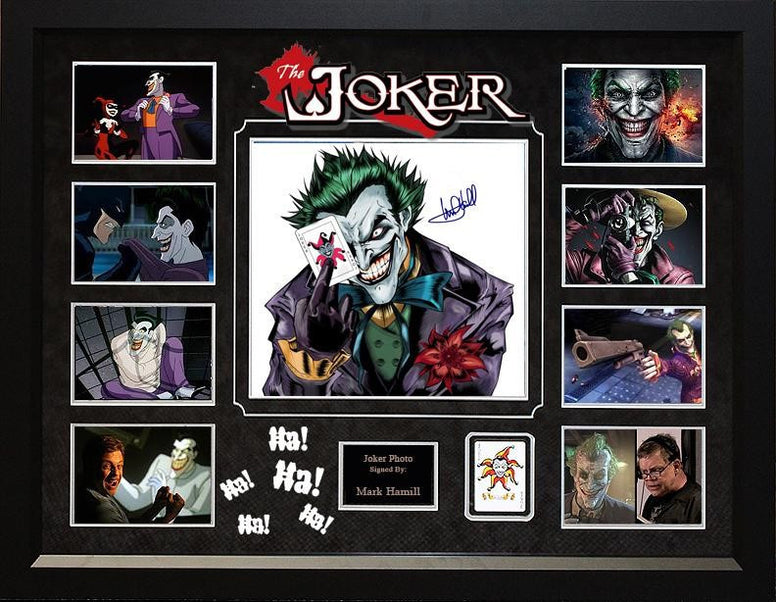 """The Killing Joke"" - Mark Hamill Signed 12x12 Photo Collage - LuxeWest"