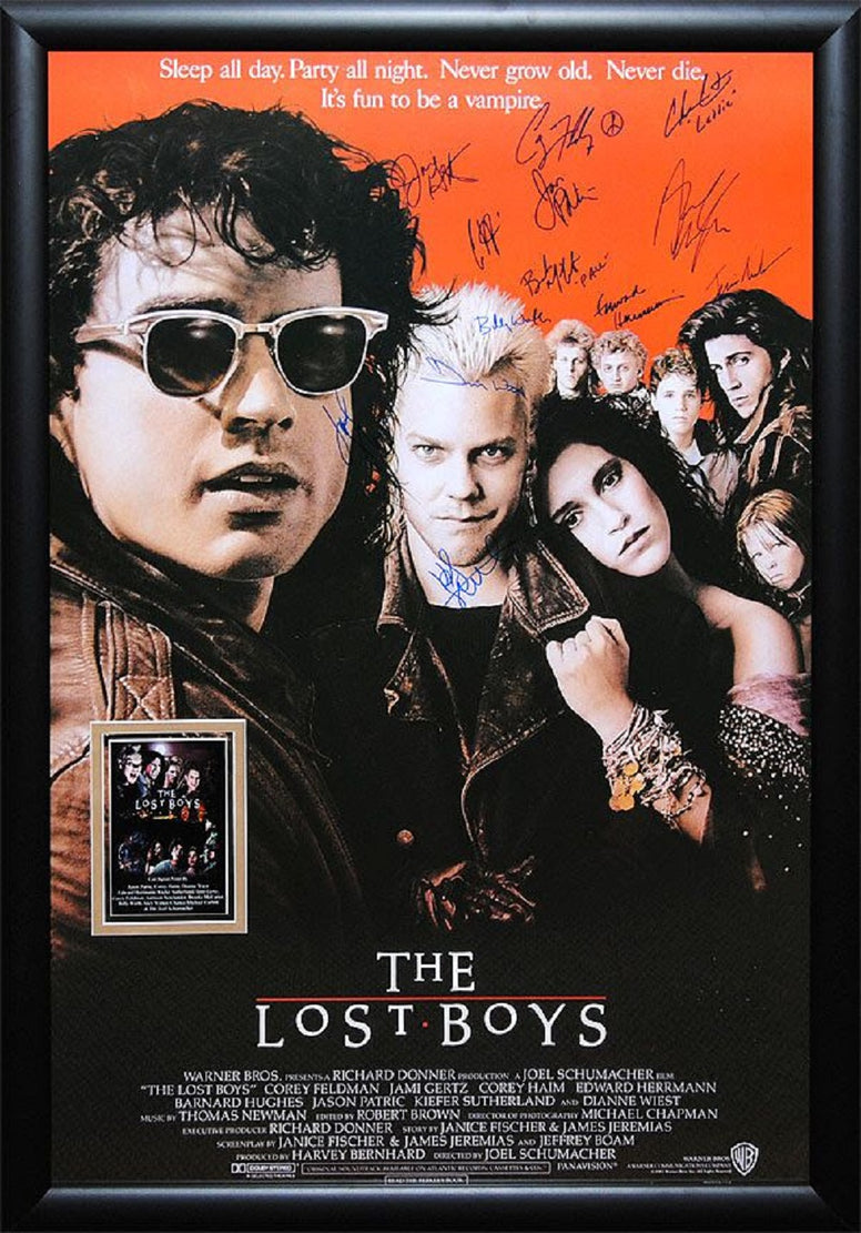 Lost Boys  - Signed Movie Poster