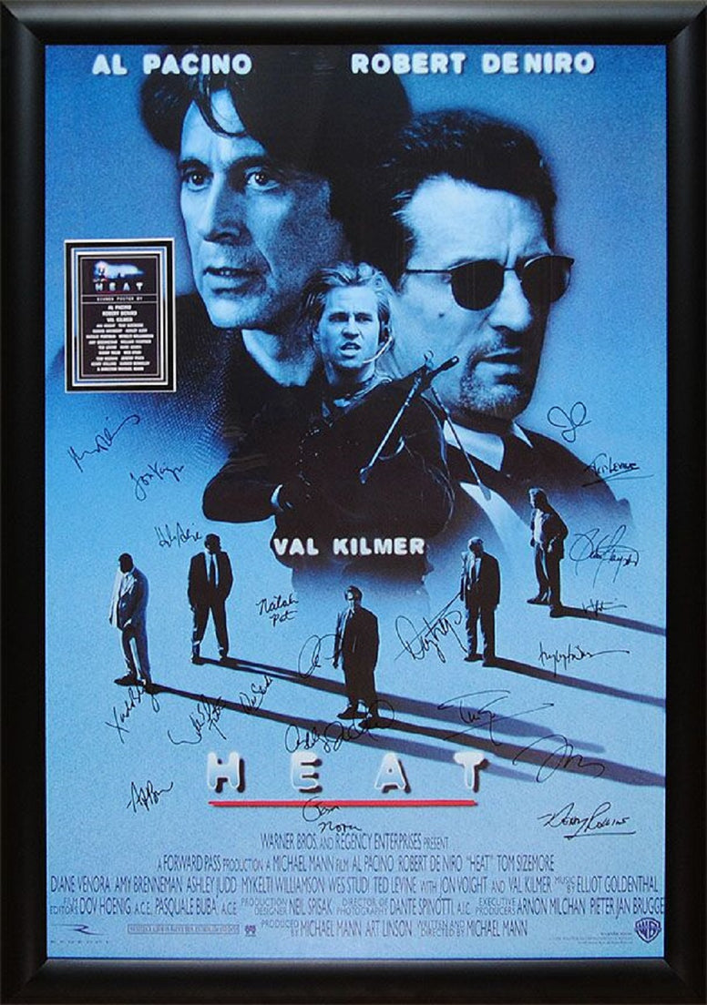Heat - Signed Movie Poster