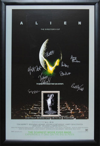 Alien - Signed Movie Poster
