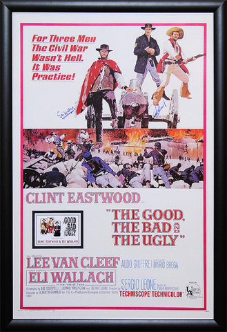 The Good, the Bad & the Ugly - Signed Movie Poster