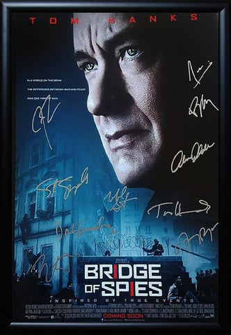 Bridge Of Spies -  Signed Movie Poster