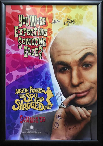 Austin Powers - The Spy Who Shagged Me - Signed Movie Poster