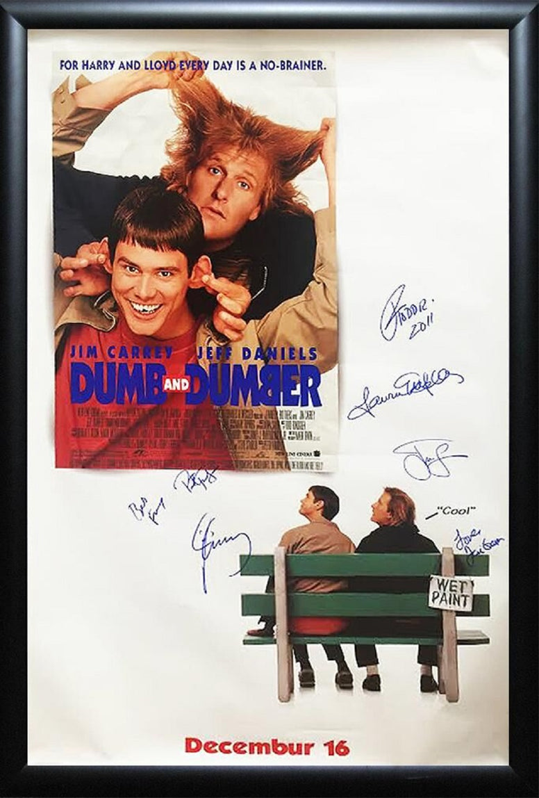 Dumb & Dumber -  Signed Movie Poster