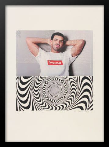 Drake Supreme Advertising Poster by Fairchild Paris
