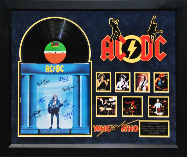 AC/DC - Who Made Who - Signed Album
