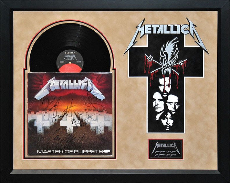 Metallica - Masters of Puppets - Signed Album