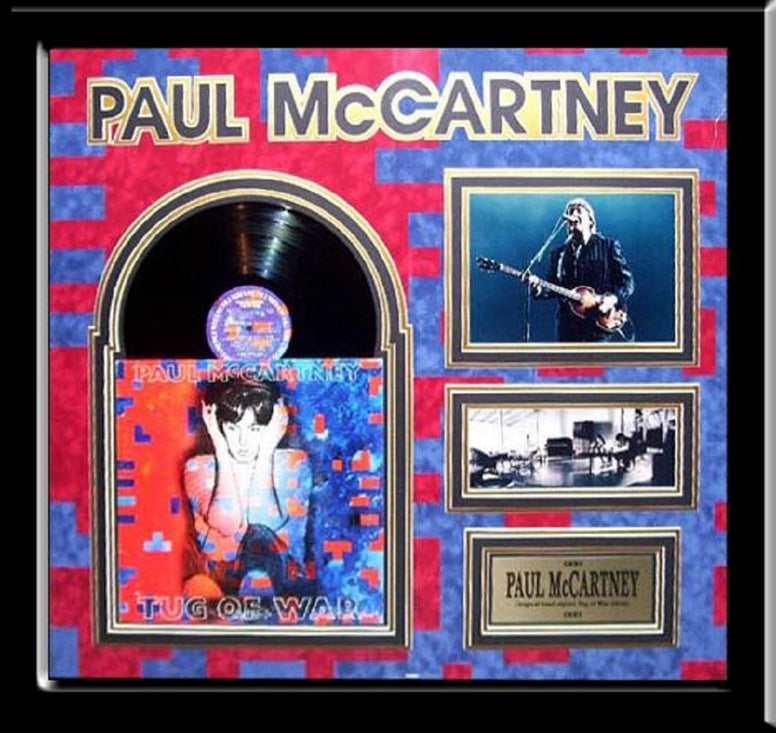 Paul McCartney - Tug Of War - Signed Album