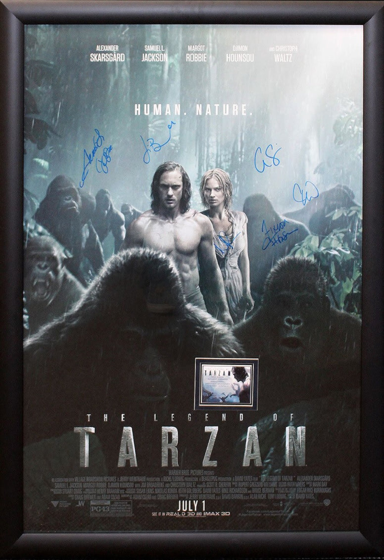 Legend of Tarzan - Signed Movie Poster