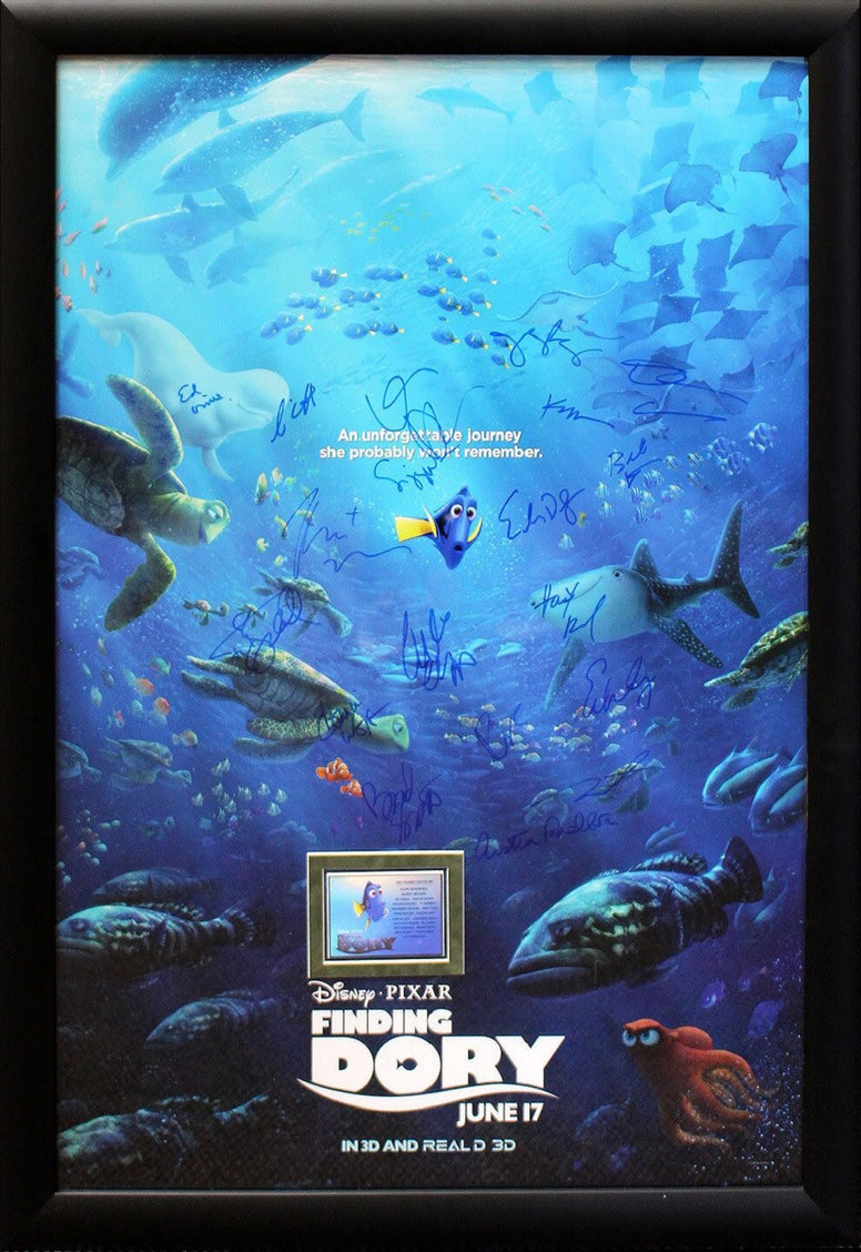 Finding Dory -  Signed Movie Poster