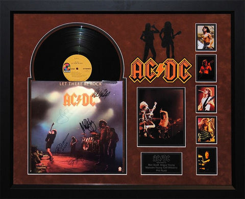 AC/DC - Let There Be Rock - Signed Album
