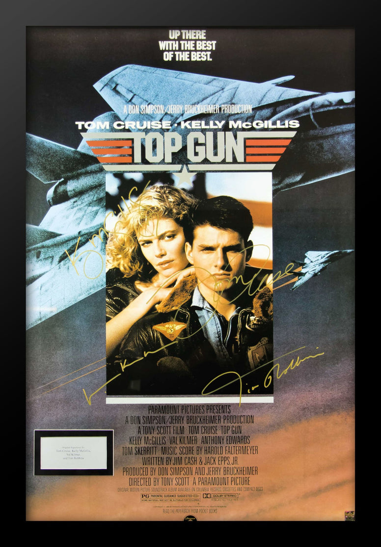 Top Gun - Signed Movie Poster
