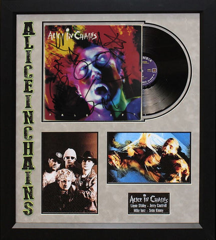 Alice in Chains Facelift - Signed Album