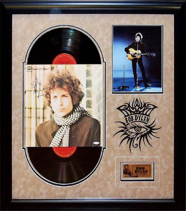 Bob Dylan - Blonde on Blonde - Signed Album