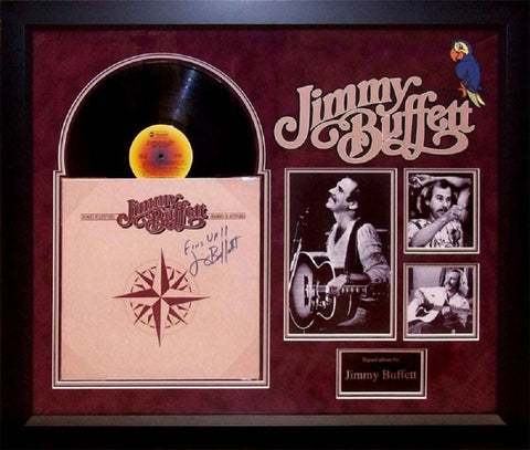 Jimmy Buffet - Changes in Latitudes - Vintage Album Deluxe Framed