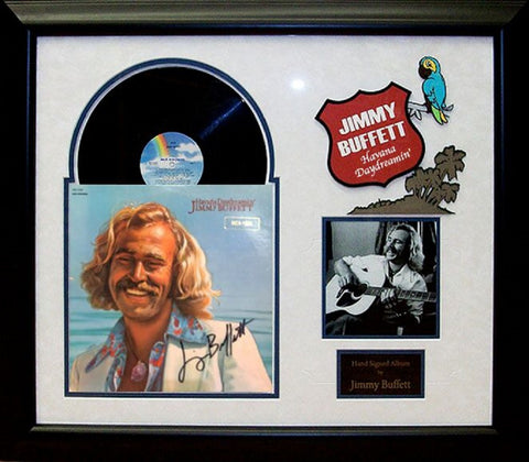 Jimmy Buffet - Havana Daydreamin - Vintage Album Deluxe Framed