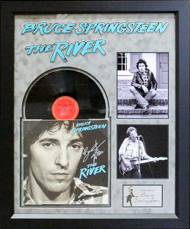Bruce Springsteen - The River - Signed Album
