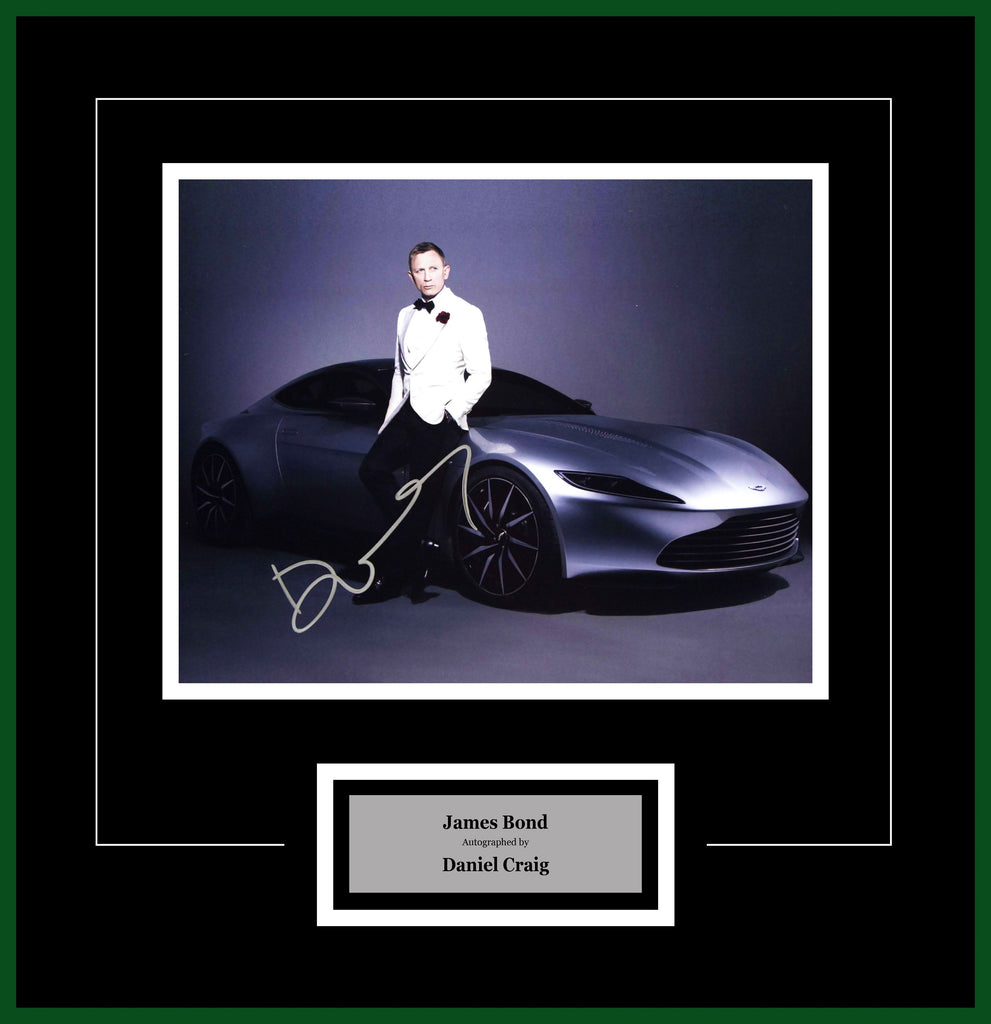 James Bond - Signed by Daniel Craig - Framed Artist Series