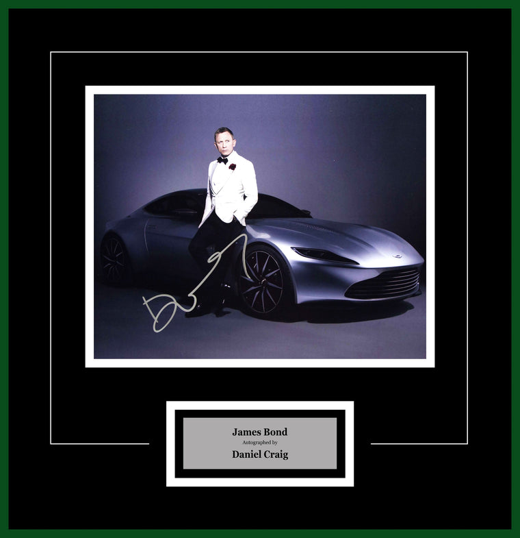 James Bond Spectre - Signed by Daniel Craig - Framed Artist Series